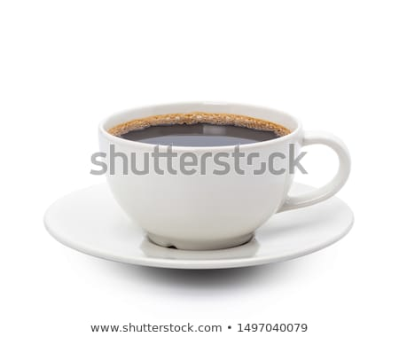 Hot coffee isolated on white background with clipping path Stock photo © punsayaporn