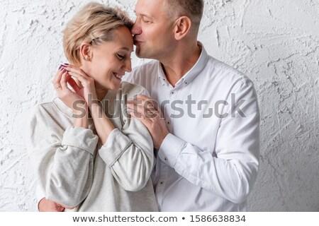 férfi · nő · átölel · egyéb · kezek · szeretet - stock fotó © Paha_L