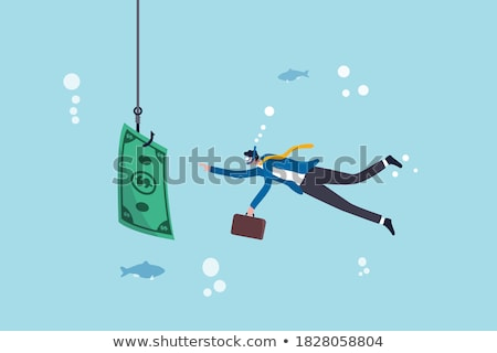 Dive into the wealth Stock photo © alphaspirit