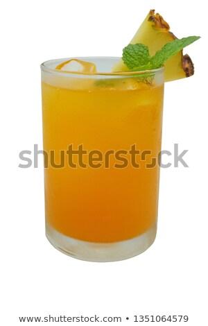 naranja · cóctel · cereza · rodaja · de · naranja - foto stock © netkov1