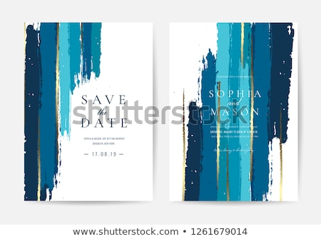 Navy blue abstract brush for background Stock photo © Kheat