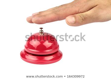 hotel · recepció · harang · szolgáltatás · asztal · szelektív · fókusz - stock fotó © nito