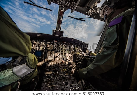 A military chopper Stock photo © bluering