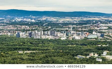 город Франкфурт Сток-фото © meinzahn