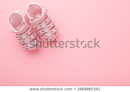 Kid shoes on floor Stock photo © fuzzbones0