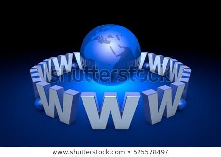 Internazionali comunicazione creazione promozione globalizzazione sito Foto d'archivio © grechka333