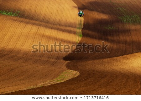 Paysage vagues collines rural nature Photo stock © Taiga