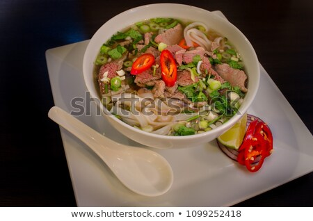 Asie principale menu délicieux Photo stock © Bigbubblebee99