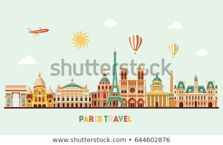 Wonderful attractions in Paris Stock photo © barabasa