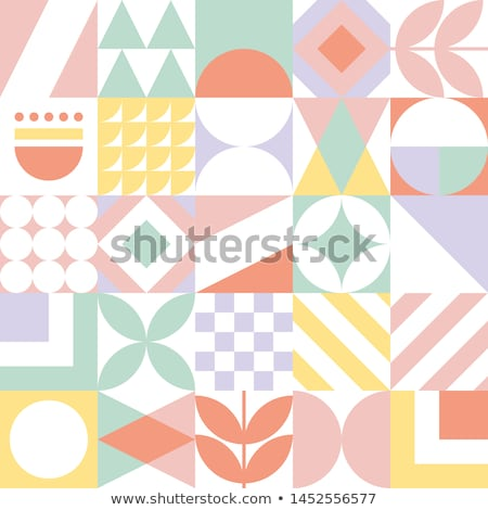 Abstract geometric composition Stock photo © Vanzyst