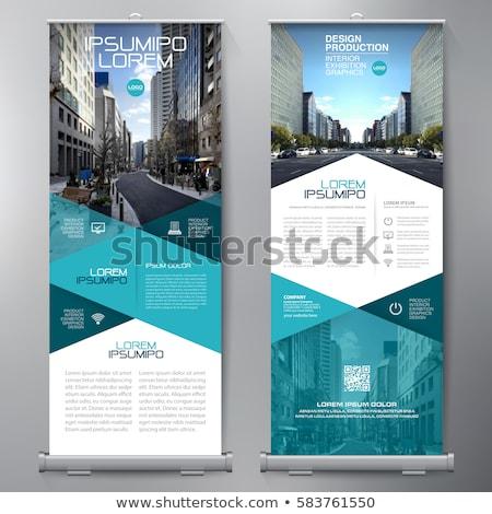 パンフレット · アップ · ベクトル · デザイン · 背景 · 企業 - ストックフォト © sarts