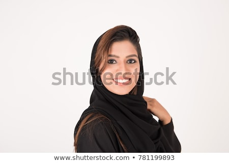 Muslim Arabic woman portrait Stock photo © zurijeta