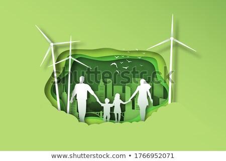 Stockfoto: Moeder · dochter · park · samen · tuin · buitenshuis