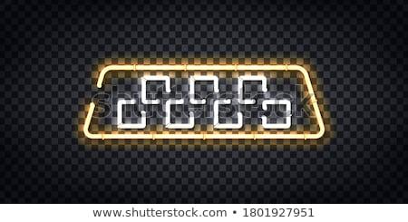 визитной · карточкой · такси · вектора · шаблон · автомобилей · печать - Сток-фото © olena