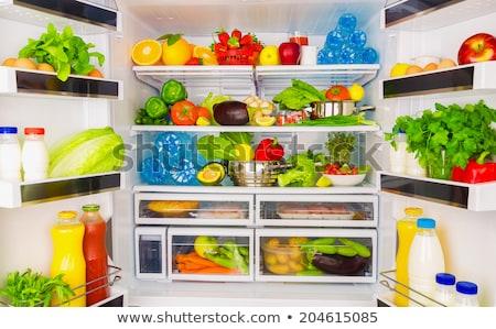 диета холодильнике форме стороны далеко безопасной Сток-фото © Olena