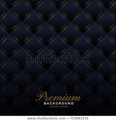Prémium sötét kárpit meghívó minta háttér Stock fotó © SArts
