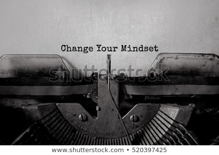 Change Your Mindset Keypad. Stock photo © tashatuvango
