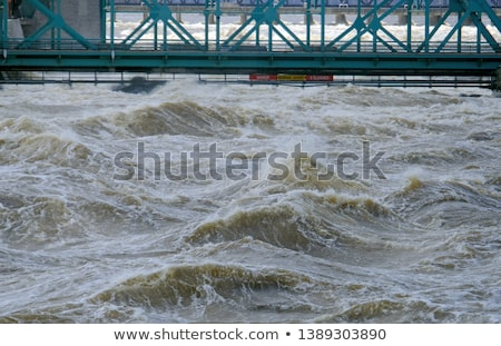 bridges on ottawa river stock photo © benkrut
