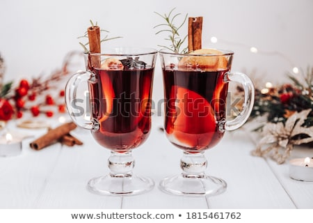 wijn · ingrediënten · specerijen · anijs · kardemom · steen - stockfoto © yuliyagontar