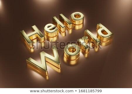 kézzel · írott · adat · titkosítás · tábla · gyűrű · irodaszerek - stock fotó © tashatuvango