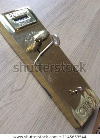 vermelho · armário · fechamento · de · combinação · ilustração · porta · metal - foto stock © adrian_n