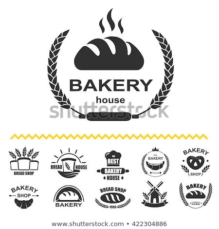 Mand vers brood isometrische knapperig Stockfoto © studioworkstock
