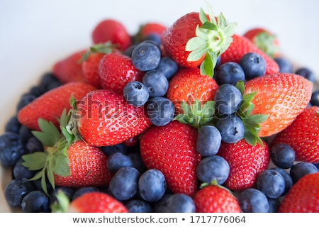 Válogatás bogyók levél gyümölcs háttér nyár Stock fotó © M-studio