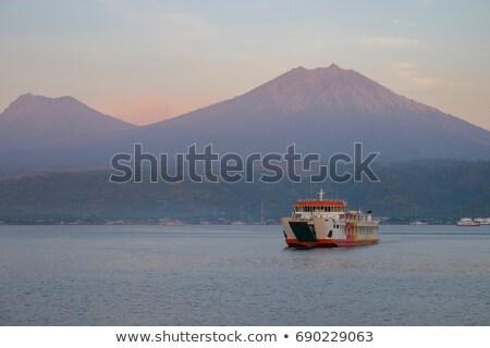 Bali balsa transporte Indonésia barco java Foto stock © joyr