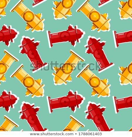 огня · воды · дороги · улице · трубы · желтый - Сток-фото © maryvalery