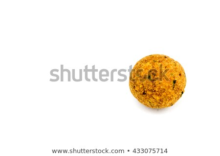fried falafel isolated on white Stock photo © M-studio