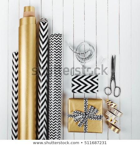moderne · christmas · verjaardag · geschenken · presenteert - stockfoto © Illia