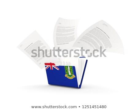 папке флаг Виргинские о-ва британский файла изолированный Сток-фото © MikhailMishchenko