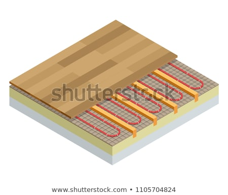 Heating system concept vector isometric illustration. Stock photo © RAStudio