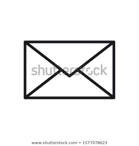 Social Network Envelope Icon Vector Illustration Stock photo © robuart