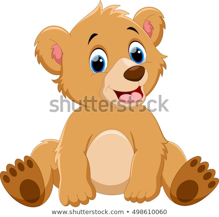 vector line cartoon animal clip art Stock photo © VetraKori