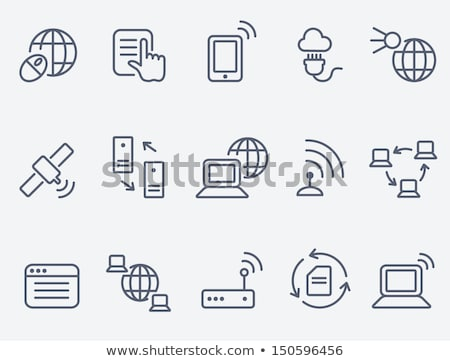 Stock photo: Wireless Technology Internet Page Global Network