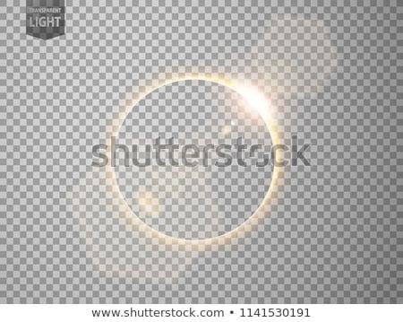 вектора синий планете Земля Восход темно пространстве Сток-фото © Iaroslava