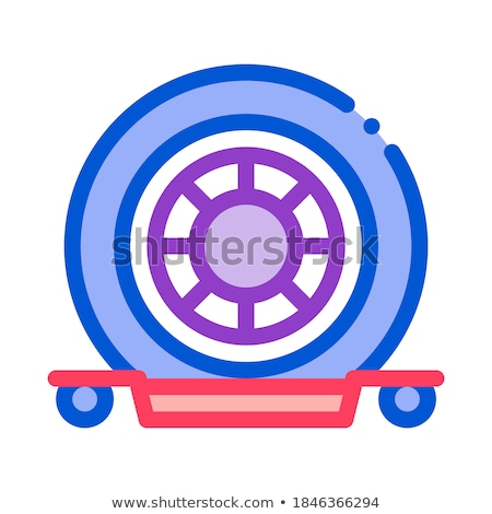Evacuation Tool Icon Vector Outline Illustration Stock photo © pikepicture
