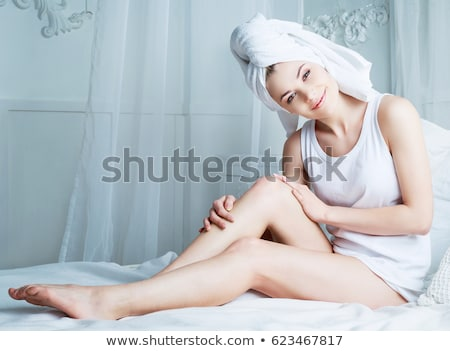 woman taking care of her hair stock photo © photography33