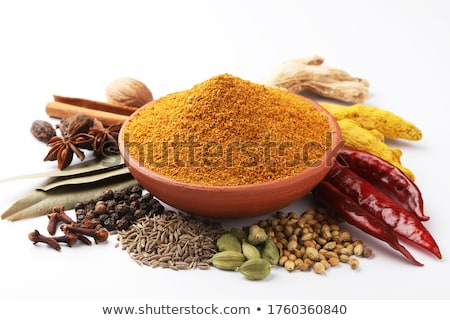 Mix spicy spices stock photo © zhekos