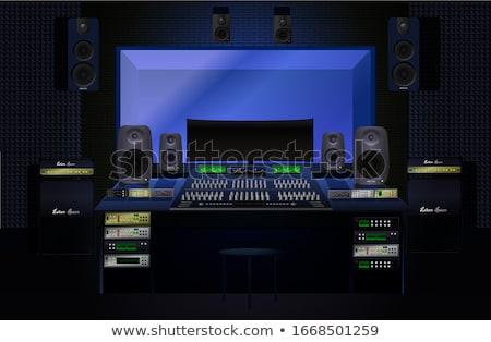 sound recording equipment stock photo © mikdam