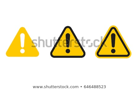 Caution Stock photo © AGorohov