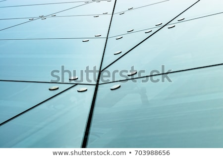 glass facade of a skyscraper stock photo © prill