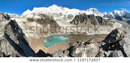 Montanha himalaia Nepal céu paisagem Foto stock © Arsgera