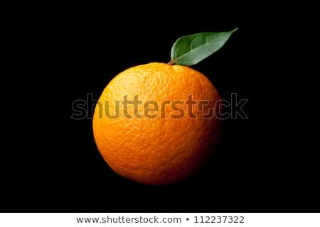 здорового · мандарин · апельсинов · черный · мнение · свежие - Сток-фото © klsbear