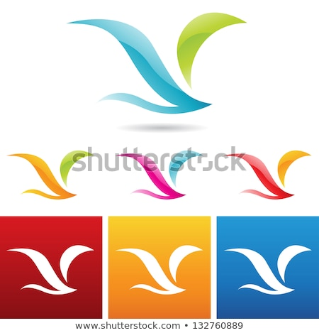 Metro style abstract wings Stock photo © cidepix