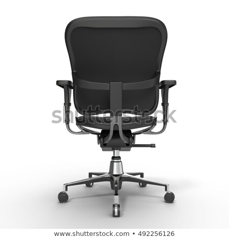 Ergonomic Office Chair Rear Stock photo © lisafx