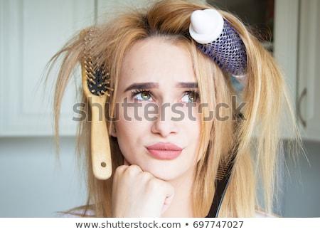 bad hair day stock photo © jayfish