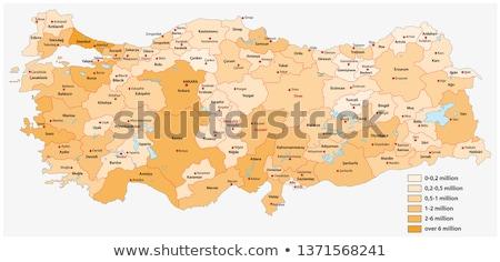 Turkey Map Turkish Maps vector illustration experimental 2182857