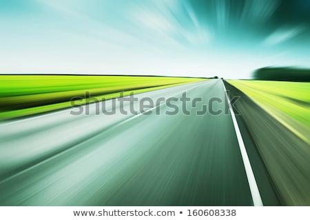Green Motion Blur Stock photo © grivet